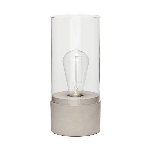 Lampe - Verre/Béton - Hübsch - Songes - 890402_0