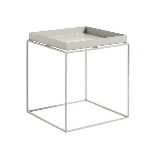 Tray table - Gris - Hay - Songes - Tray-table-warm-grey-m