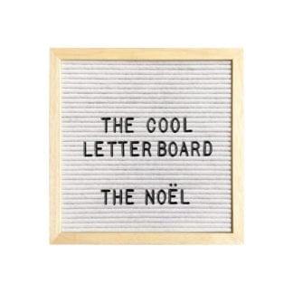 Letter board S - Blanc