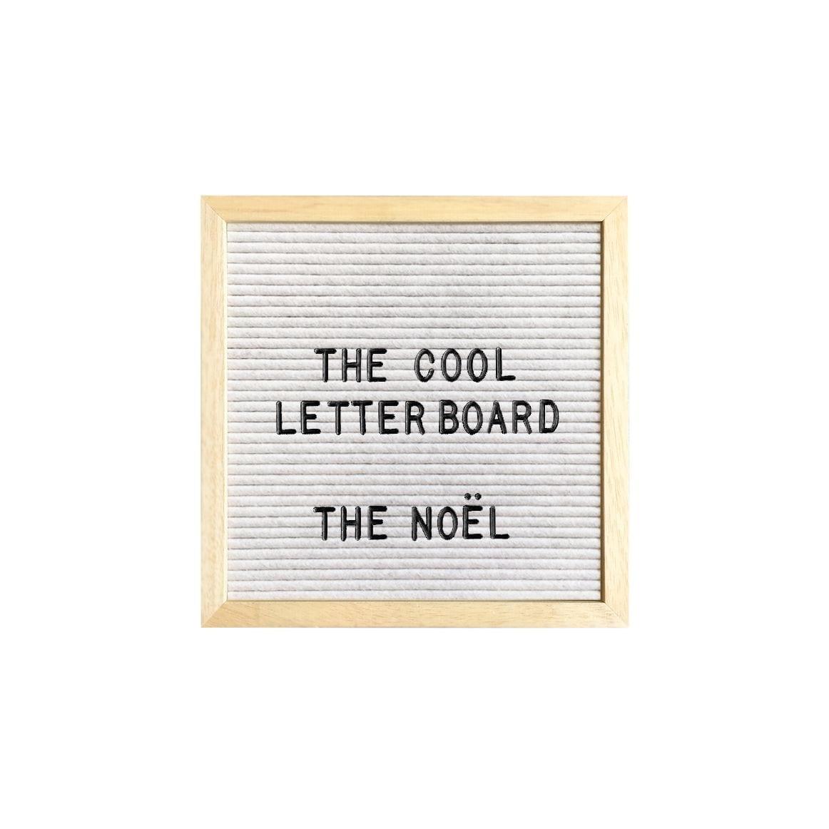 Letter board Noel - Blanc