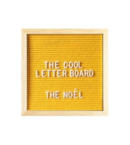 Letter board S - Jaune