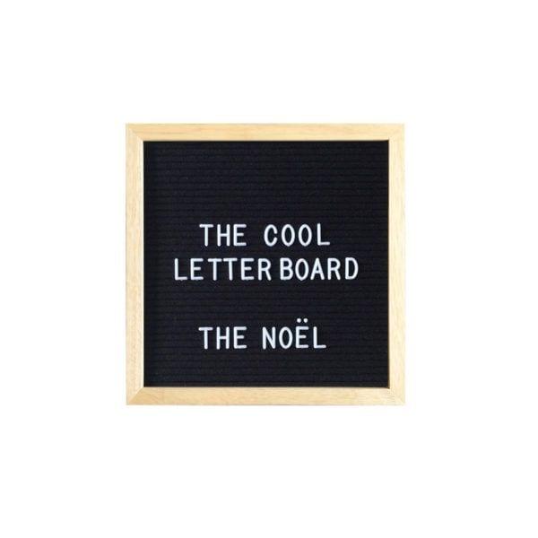 Letter board Noel - Noir - The Cool Company - Songes - letterboard-noel-noir01