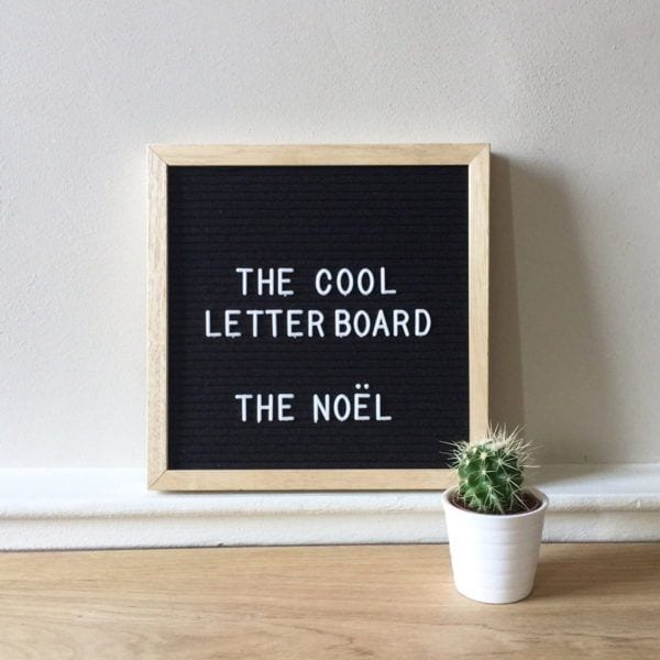 Letter board Noel - Noir - The Cool Company - Songes - letterboard-noel-noir02
