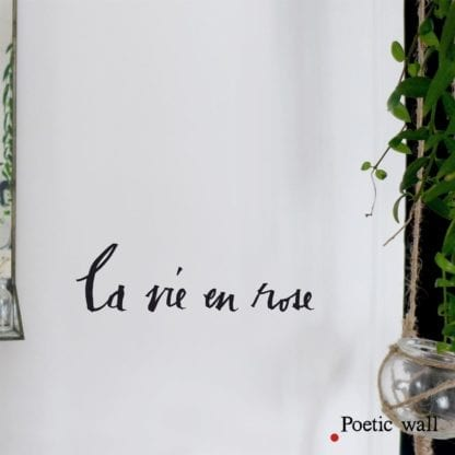 Sticker - La vie en rose