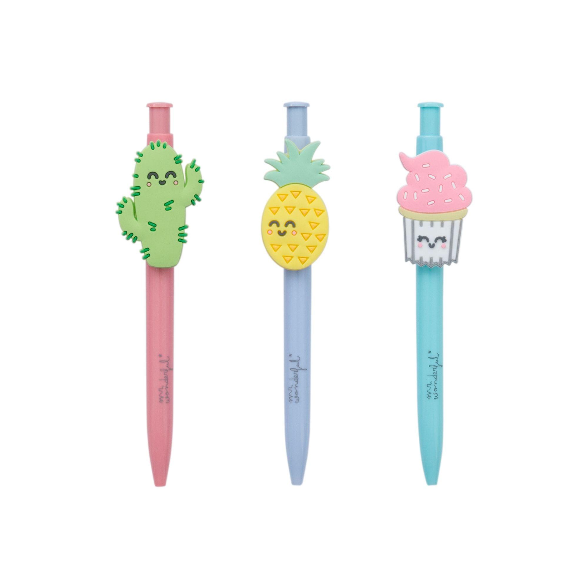 Pack de 3 stylos