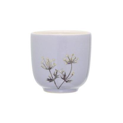 Mini mug Flora - Bleu