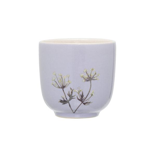 Mini mug Flora - Bleu - Bloomingville - Songes - 21247403-b