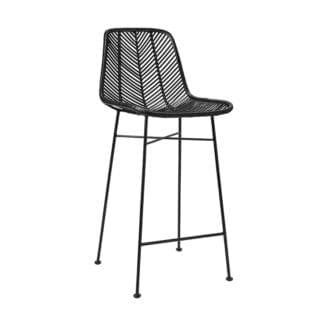 Chaise de bar - Rotin