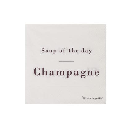 Serviettes - Soup of the day