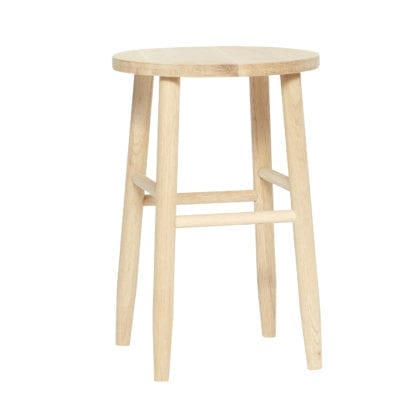 Tabouret simple - Bois