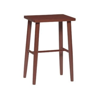 Tabouret simple - Rouge