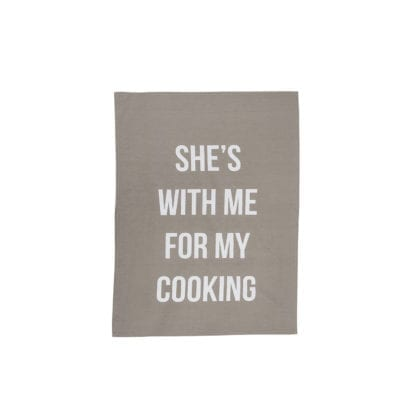 Linge de cuisine - She's with me