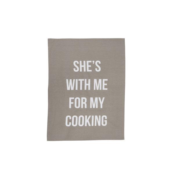 Linge de cuisine - She's with me - Bloomingville - Songes - 95505812-b