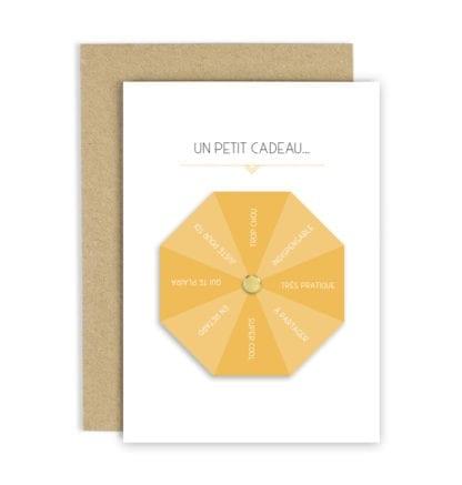 Carte de voeux - Un petit cadeau...