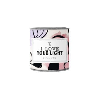 Bougie pot S - Love your light