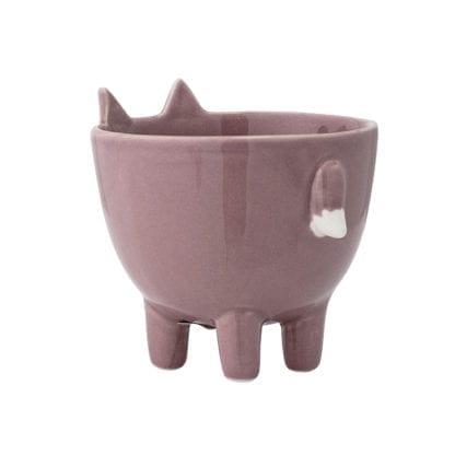 Pot - Renard rose