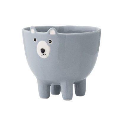 Pot - Ours bleu
