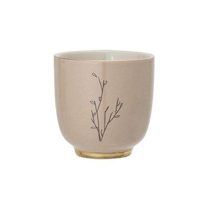 Mini mug Rio - Beige/doré