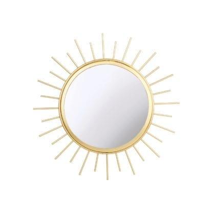 Miroir soleil - Doré