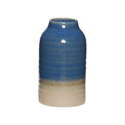 Vase céramique - Bleu S