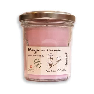 Bougie parfumée - Coton