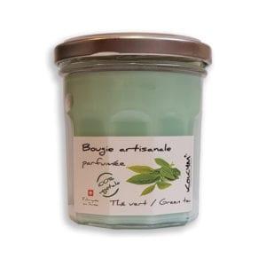 Bougie parfumée - Thé vert