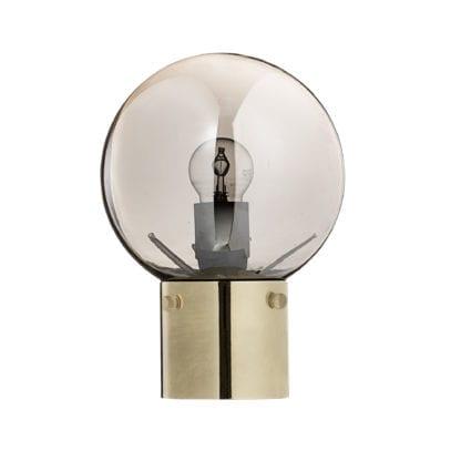 Lampe - Ronde/Doré