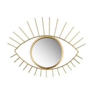 Miroir oeil - Doré