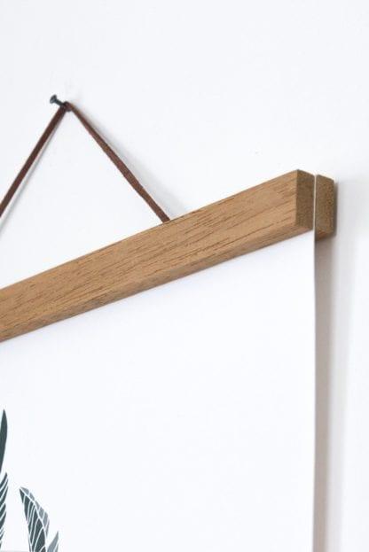 Porte-affiche en bois - A4
