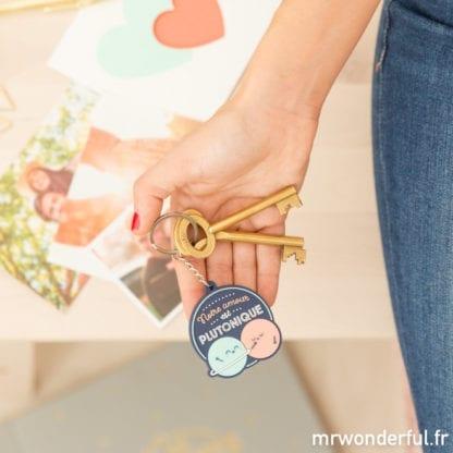 Porte-clés - Amour plutonique