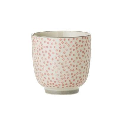 Mini mug Cécile - Pois rose