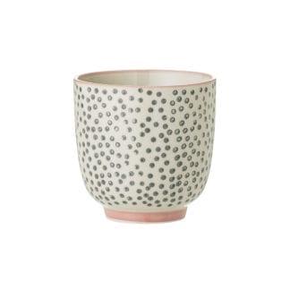 Mini mug Cécile - Pois gris