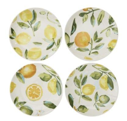 Assiette - Citron