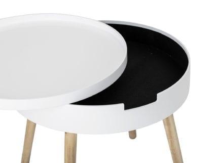 Table basse - Tapa blanc