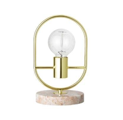 Lampe - Marbre/doré