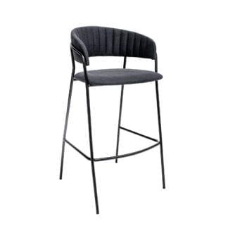 Chaise de bar - Tissu
