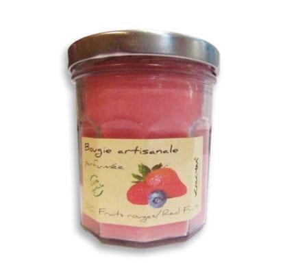Bougie parfumée – Fruits rouges