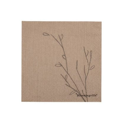 Serviettes - Plante