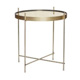 Table basse - Doré