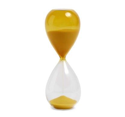 Sablier Time M - Jaune