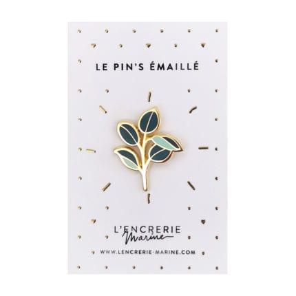 Pin's émaillé – Caoutchouc