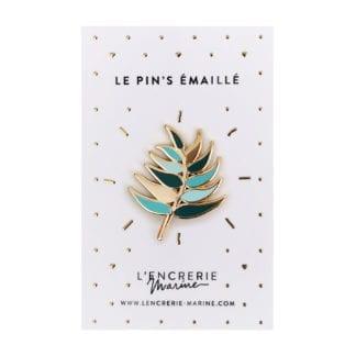 Pin's émaillé – Palmier