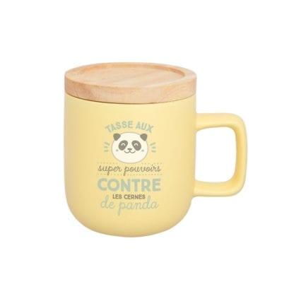 Mug - Cernes de panda