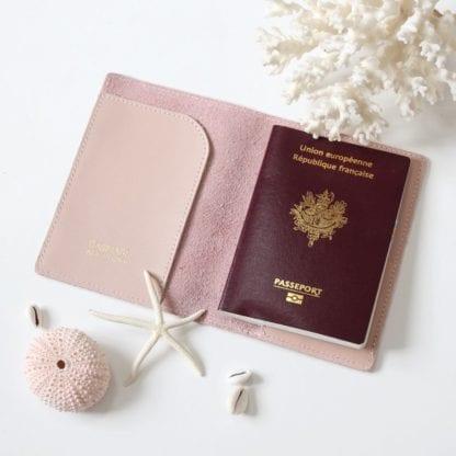 Étui à passeport - Rose