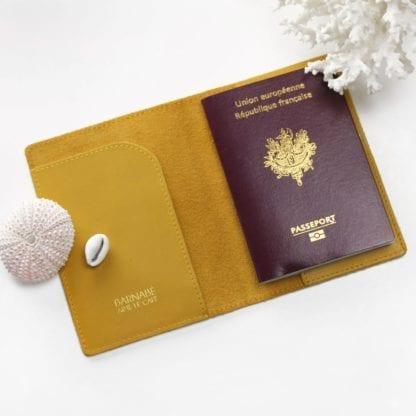 Étui à passeport - Safran