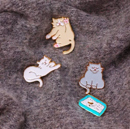 Pin's – Chat Coucou Suzette