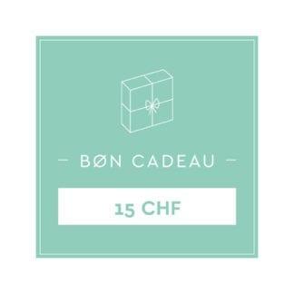 Bon cadeau 15 CHF
