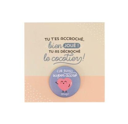 Badge - Super accro !