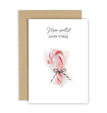 Carte de voeux – Sucre d'orge