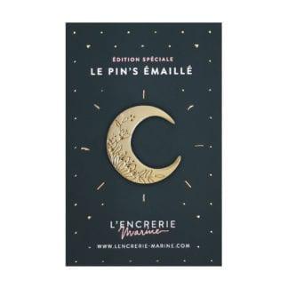 Pin's émaillé – Lune mystique